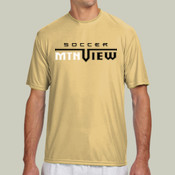 MNT View - N3142 A4 Short-Sleeve Cooling Performance Crew Neck T-Shirt