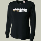 MTN View - NW3002 A4 Ladies' Long Sleeve Cooling Performance Crew Shirt